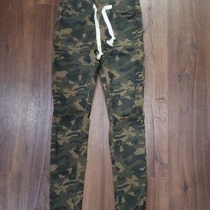 American Bazi Camo Skinny Jeans